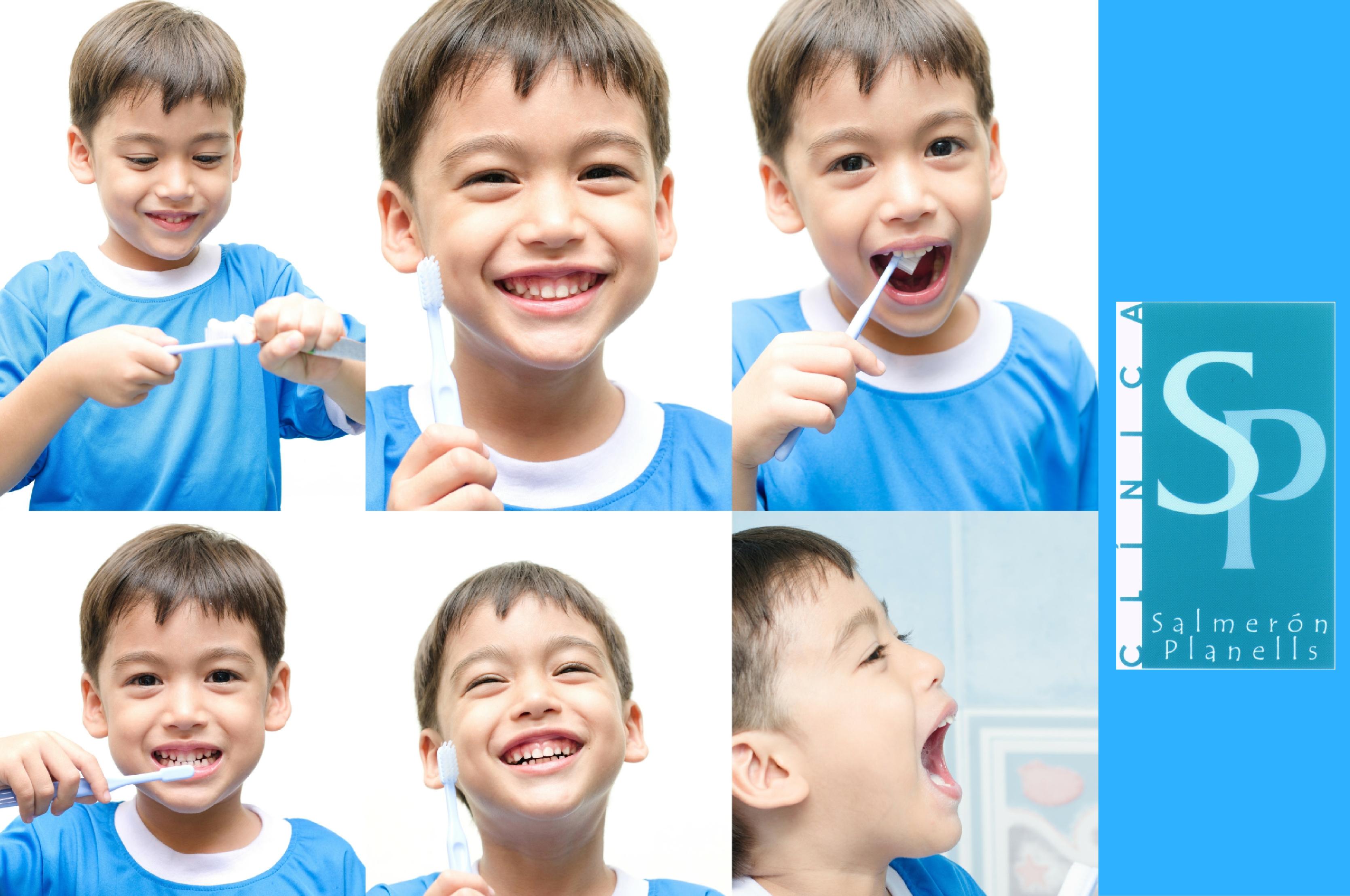 Los niños españoles no se cepillan bien los dientes