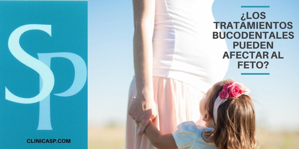 ¿Los tratamientos bucodentales pueden afectar al feto?