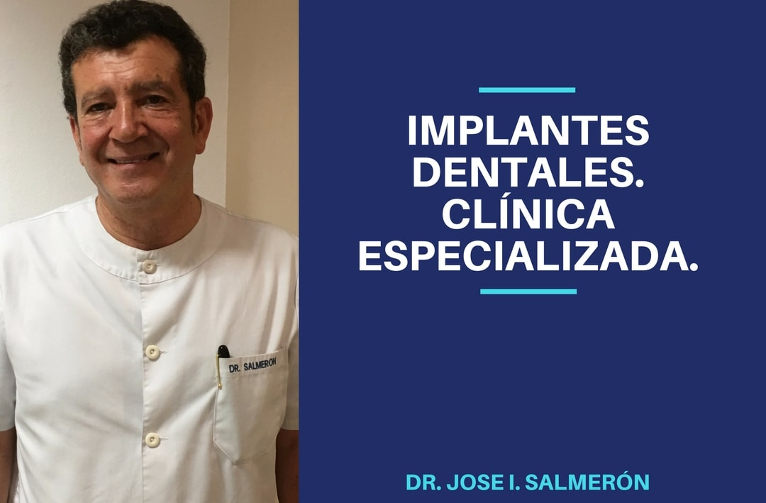 Implantes dentales. Clínica especializada. Madrid